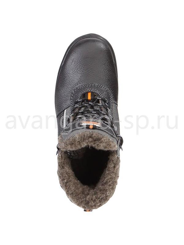 рабочие ботинки корвет щерстяной мех
