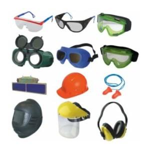 Защитные очки, щитки и шлемы