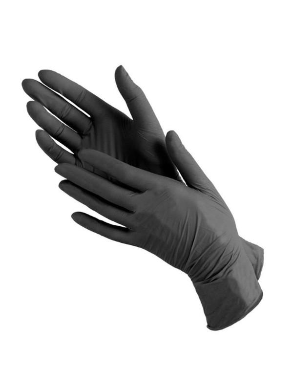 Перчатки нитриловые текстурированные, Benovy