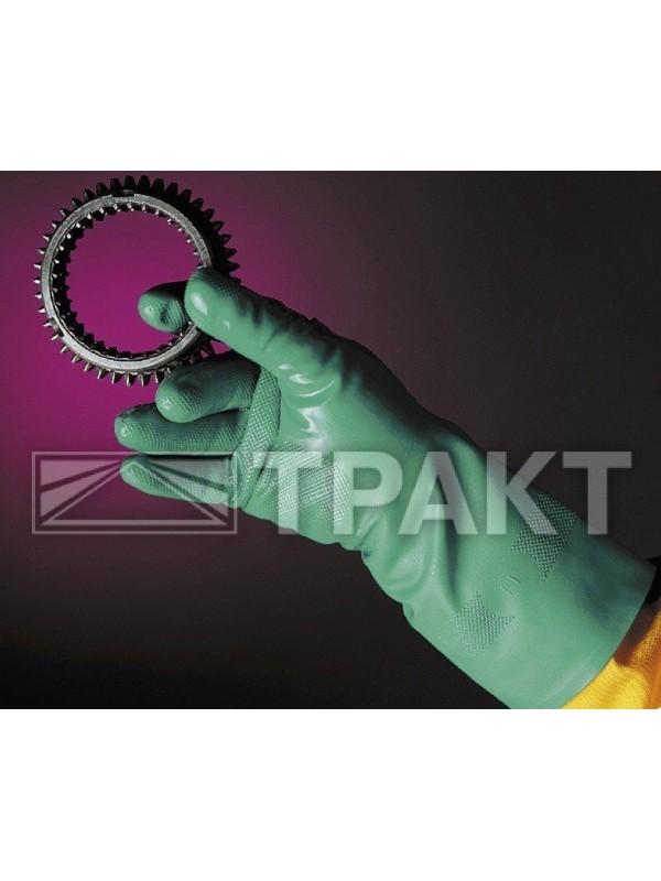 Перчатки химически стойкие нитриловые