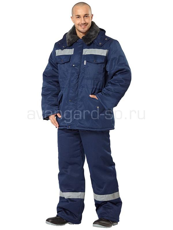 Костюм зимний Мастер Ультра (темно-синий)