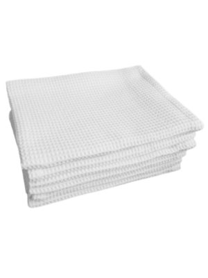 Полотенце вафельное отбеленное 40*80 см