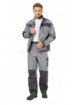 Костюм рабочий мужской летний «Финикс» цвет серый/темно-серый