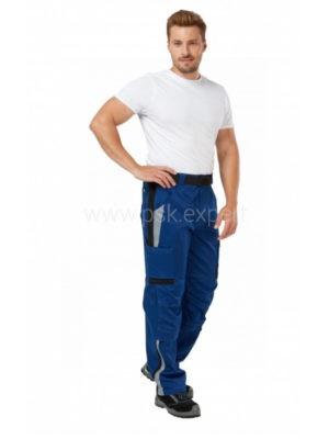 Брюки рабочие мужские летние «Azur» цвет синий/черный