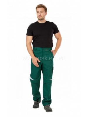 Брюки рабочие мужские летние «Алатау» цвет зеленый/черный