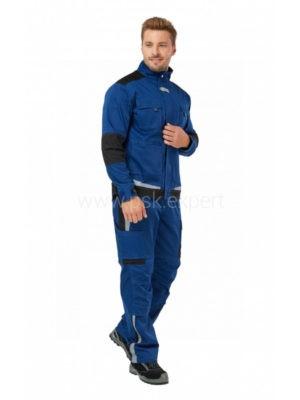 Куртка рабочая мужская летняя «Azur» цвет синий/черный