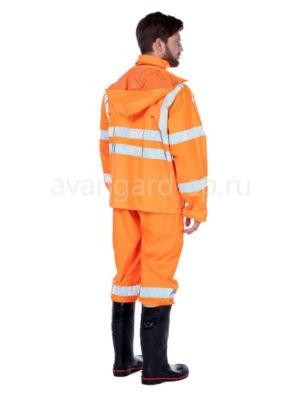 Костюм влагозащитный с СОП «Triton extra» оранжевого цвета