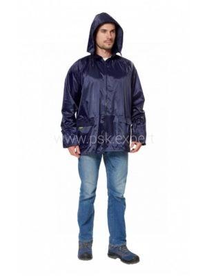 Куртка влагозащитная «Рейн» цвет синий