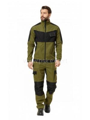 Куртка рабочая мужская летняя «Forest» цвет хаки