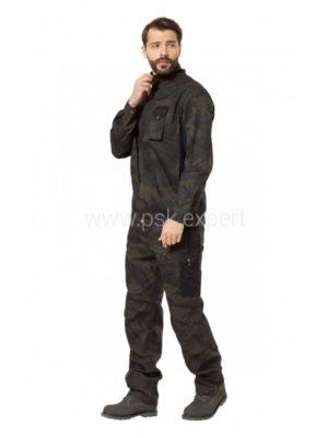 Куртка мужская летняя «Axel» камуфляжная цвет хаки