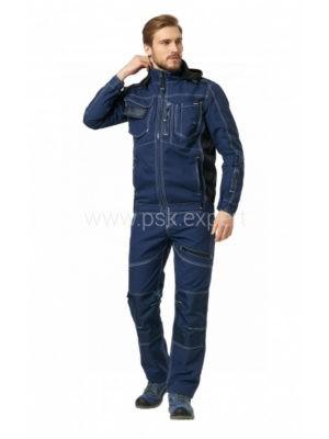 Куртка рабочая мужская летняя «Smart» цвет т. синий
