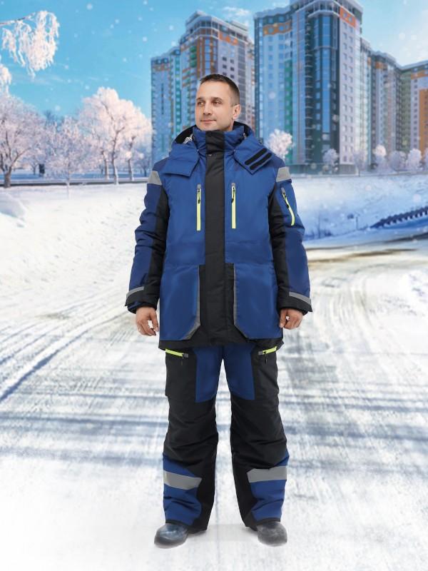 Куртка утепленная мужская, СЕВЕРНЫЙ ШЕЛЬФ